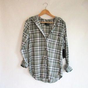 Hurley Wilson 3.0 Hooded Shirt Size M